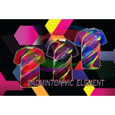 kaos Badminton vic  element
