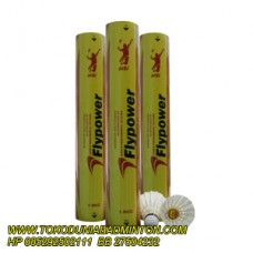 shuttelcock flypower yellow