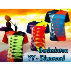 kaos badminton YY diamond